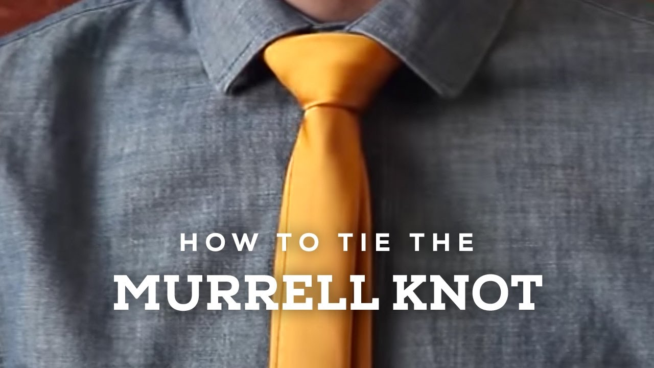 Image result for HOW TO TIE THE MURRELL KNOT