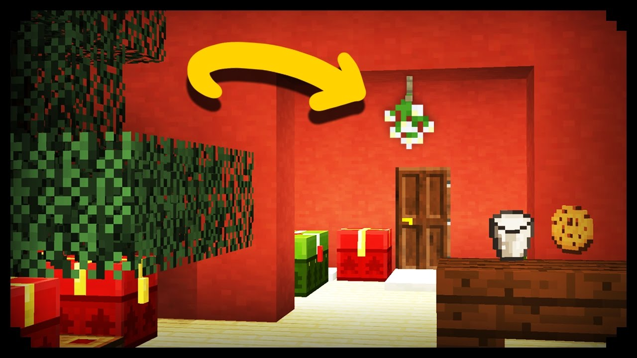 Minecraft How To Make A Mistletoe
