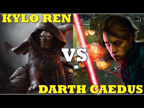 What The EU Did Better Than Star Wars The Force Awakens. Kylo Ren VS Darth Caedus