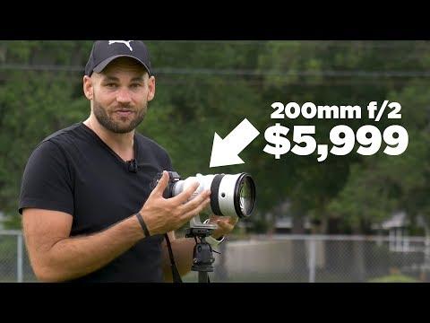 200mm F/2 + High-speed Sync