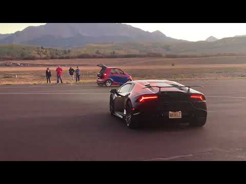200mph Jet Smart Car Vs Lamborghini Huracan
