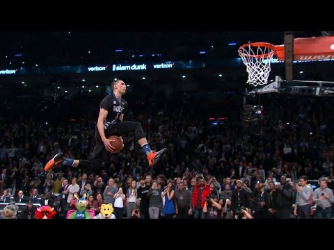 Every Free Throw Line Dunk in NBA Dunk Contest History
