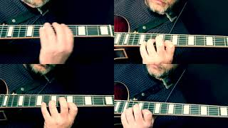 Nigel Price - 4 part harmony on an arpeggio exercise. Instant Johnny Smith harmony!