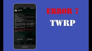 How To Fix TWRP Error 7 | Updater Process Ended with Error 7 In TWRP || Gadget Techy