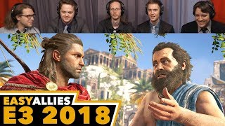 Assassin's Creed Odyssey - Easy Allies Reactions - E3 2018