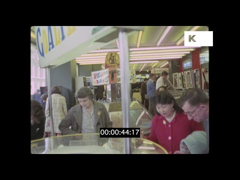1960s, 1970s Amusement Arcades, UK, HD from 35mm