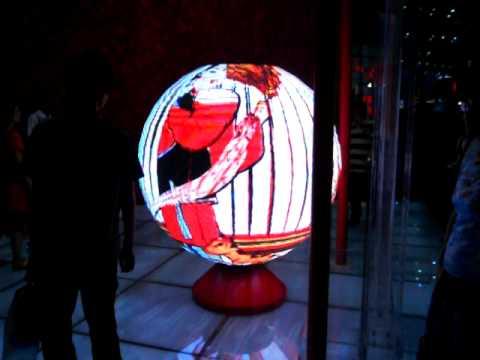 Sphere led screen - Video Ball- Globe Led Display-LED Sphere-LED Ball.AVI