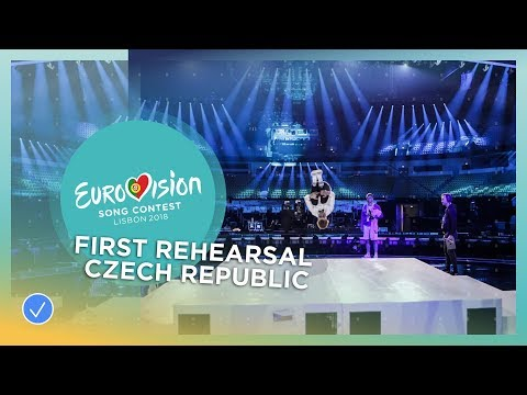 Mikolas Josef - Lie To Me - First Rehearsal - Czech Republic - Eurovision 2018