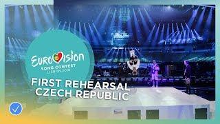 Mikolas Josef - Lie To Me - First Rehearsal - Czech Republic - Eurovision 2018