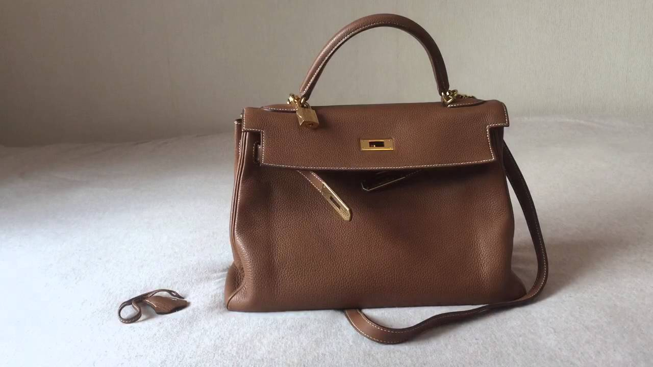 845d35ba7f2f Hermes Kelly 32 Retourne Review - YouTube