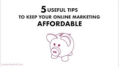 Affordable Web Design For Small Business ★ Tips To Keep Your Costs Low ★