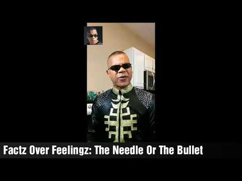 BREAKING NEWS:  Did I Not Warn You??? The Needle Or The Bullet