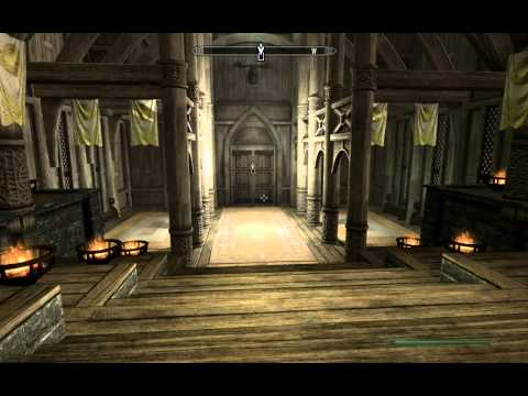 Skyrim How to decorate and customize your house!