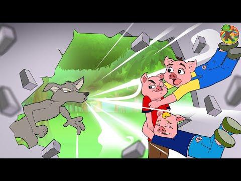 Три поросёнка 🐷 Сказки про фей 17 серия   KONDOSAN На русском смотреть сказки для детей мультфильмы
