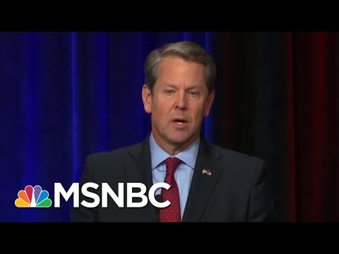 In Race Against Stacey Abrams, Brian Kemp Says He Won\'t Recuse In Runoff | Morning Joe | MSNBC