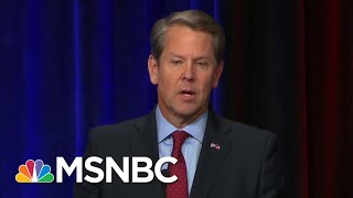 In Race Against Stacey Abrams, Brian Kemp Says He Won't Recuse In Runoff | Morning Joe | MSNBC