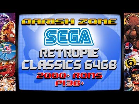 64gb SEGA CLASSICS Image for the Pi from Darish Zone -
