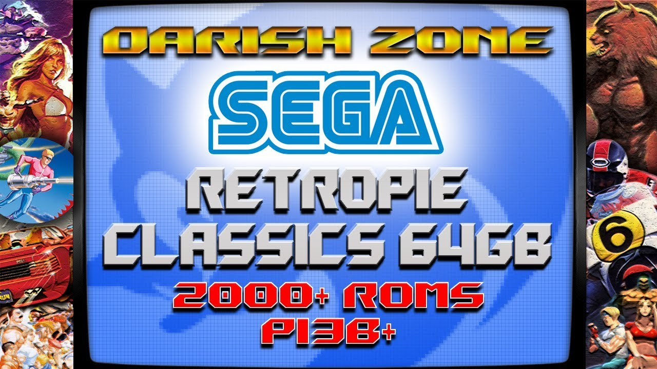 64gb SEGA CLASSICS Image for the Pi from Darish Zone -