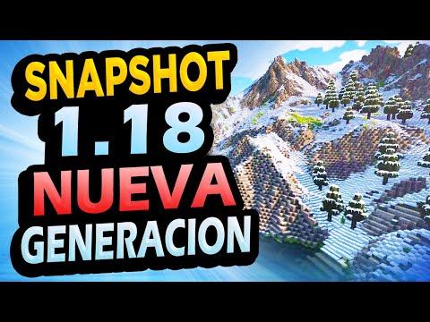 ✅ Minecraft 1.18 SNAPSHOT 1👉 MONTAÑAS, CUEVAS Y MÁS