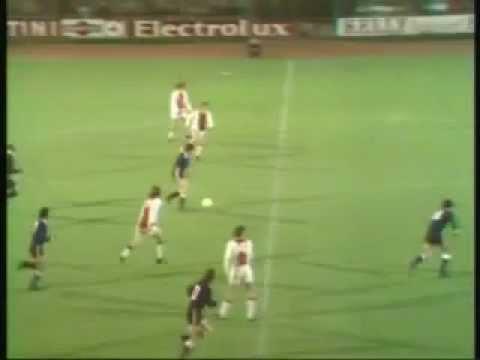 Ajax - independiente finale wereldbeker (1972).