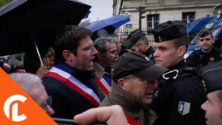 Manifestation des maires contre la baisse des dotations de l'Etat (10 novembre 2018, Paris)