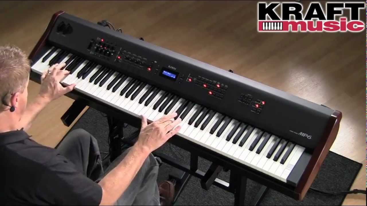 kraft music kawai mp6 digital stage piano demo with sean o 39 shea youtube. Black Bedroom Furniture Sets. Home Design Ideas