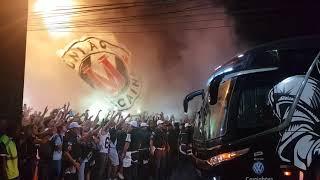 Vasco x Cruzeiro: Chegada do Vasco