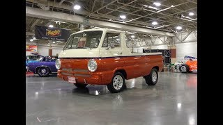 1963 Dodge A100 Pickup Truck Custom Restomod & Engine Sound on My Car Story with Lou Costabile
