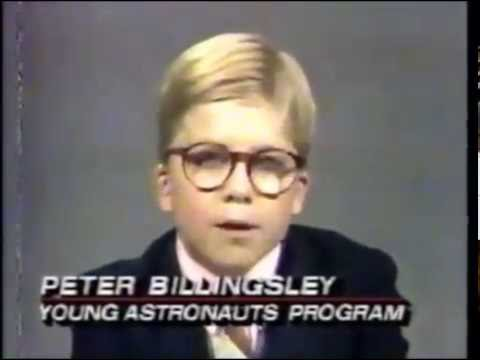 Peter Billingsley On Witnessing The Challenger Disaster (1986) | Young Astronauts Program