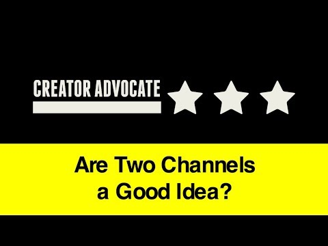 Entrepreneur Advice: Are Two Channels a Good Idea?