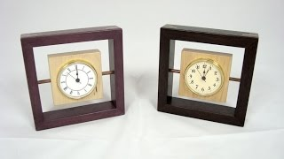 72 - How To Build A Contemporary Clock
