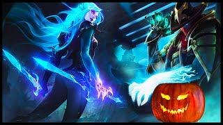 TOP 10 Halloween/Harrowing Skins League of Legends