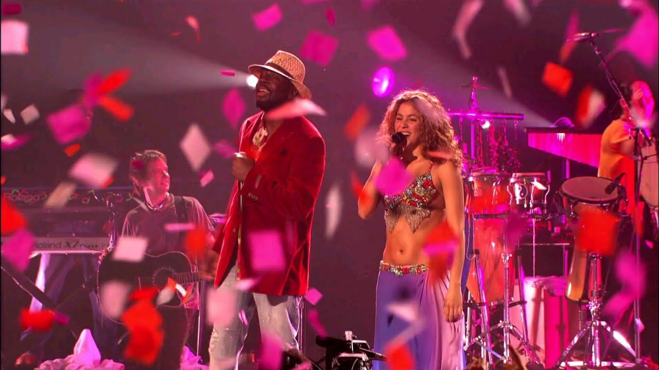 Shakira - Hips Don't Lie (Live) ft. Wyclef Jean