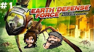 "Earth Defense Force Insect Armageddon #1 ""Welcome Home, Armageddon"""