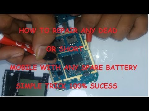 HOW TO REPAIR ANY DEAD OR SHORT MOBILE FULL SOLUTION IN HINDI TESTED IN SAMSUNG J1 ACE(J100H)