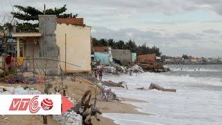 Ninh Thuận: Nước biển xâm thực đất liền   VTC