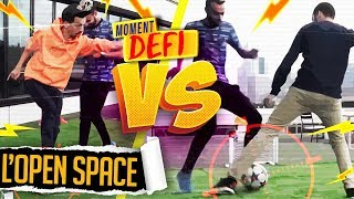 LE DEFI OPEN SPACE : BIG FLO & OLI VS MOSS FREESTYLE !!