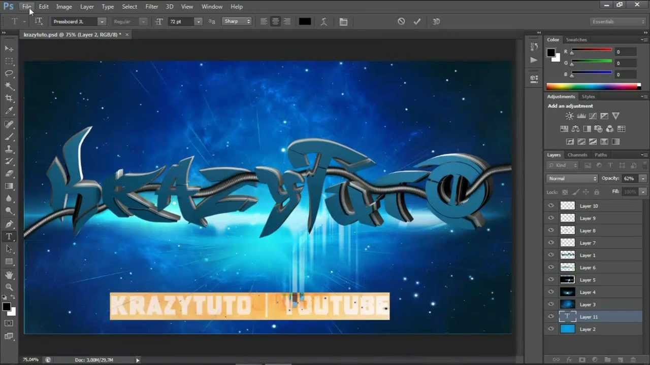 New in CINEMA 4D R15: Typography Tools on Vimeo