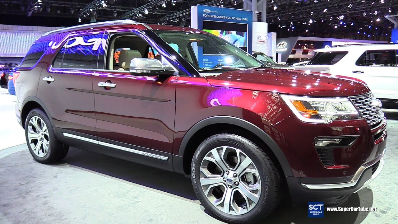 2018 ford explorer exterior and interior walkaround 2017 new york auto show