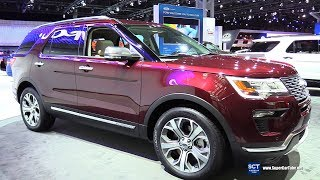2018 Ford Explorer - Exterior and Interior Walkaround - 2017 New York Auto Show