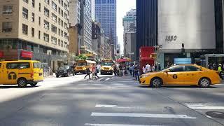 Walk through New York streets : 55th St.
