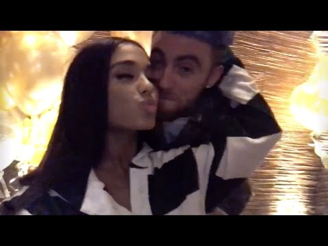 Ariana Grande Throws Birthday Party For Mac Miller | Full Video