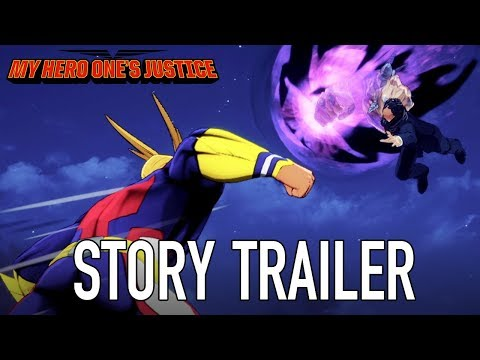 My Hero One's Justice - PS4/XB1/PC/Switch - Story Trailer