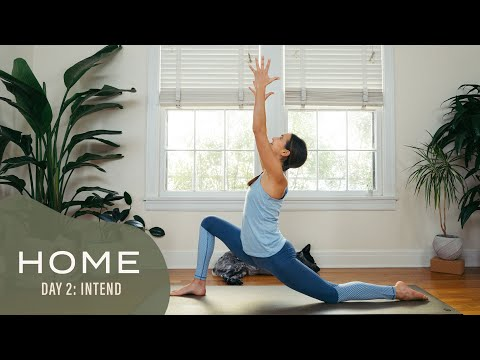 Home - Day 2 - Intend | 30 Days of Yoga With Adriene