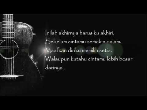 Fatin Shidqia - Aku Memilih Setia (Official Lyric Video)