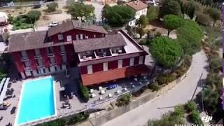 Hotel Cavalieri video drone passignano sul trasimeno perugia lago umbria