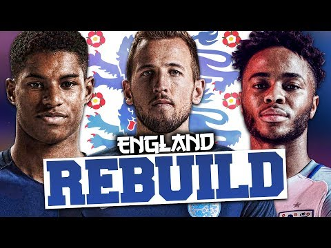 REBUILDING ENGLAND!!! FIFA 17 Career Mode (WORLD CUP!)