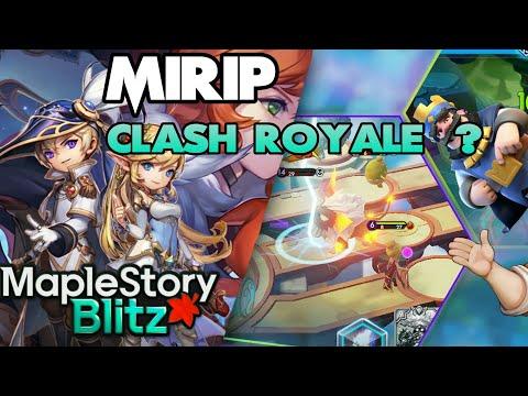Game Mirip Clash Royale Tapi Lebih SERU !! - MapleStory Blitz Indonesia
