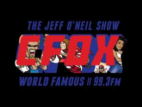 The Jeff O'Neil Show Gets On Global For Tragically Hip Week And A Bike Race
