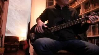 Body Surfing - Santana bass cover by Nacho